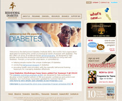Behav diabetes website