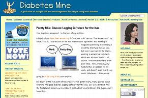 diabetesmine website