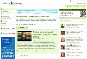 Diabetic Connect website