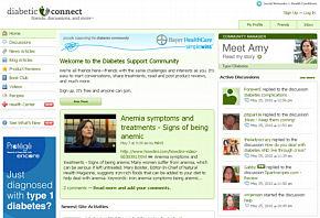 Diabetic Connect website