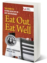 Cover of Eat Out, Eat Well – The Guide to Eating Healthy in Any Restaurant