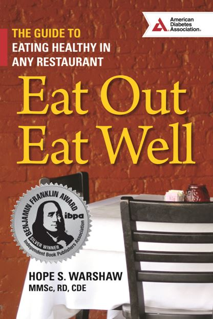 Books by hope hope warshaw associates for Restaurant guide