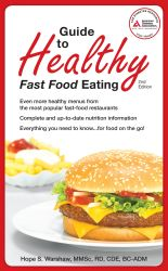Cover of Guide to Healthy Fast Food Eating