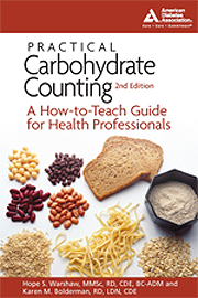 Cover of Practical Carbohydrate Counting: A How-to-Teach Guide for Health [For Practitioners]