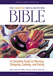 Cover of The Diabetes Food and Nutrition Bible