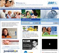 JDRF website
