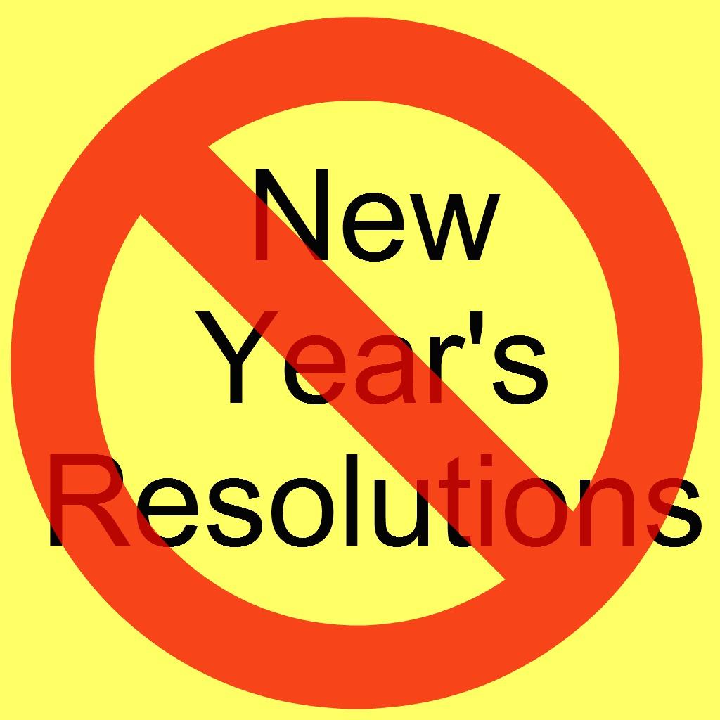 No NY resolutions