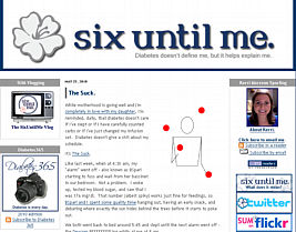 Six Until Me website