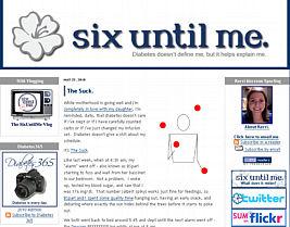 Six Until Me website