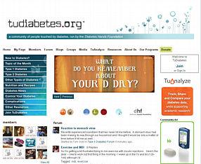 tudiabetes website